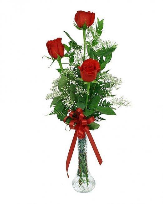 Букет 3 рози