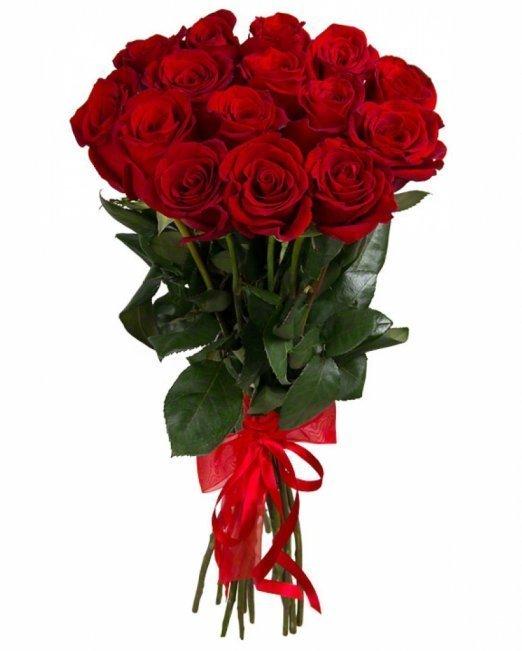 Букет от червени рози - 11 бр.