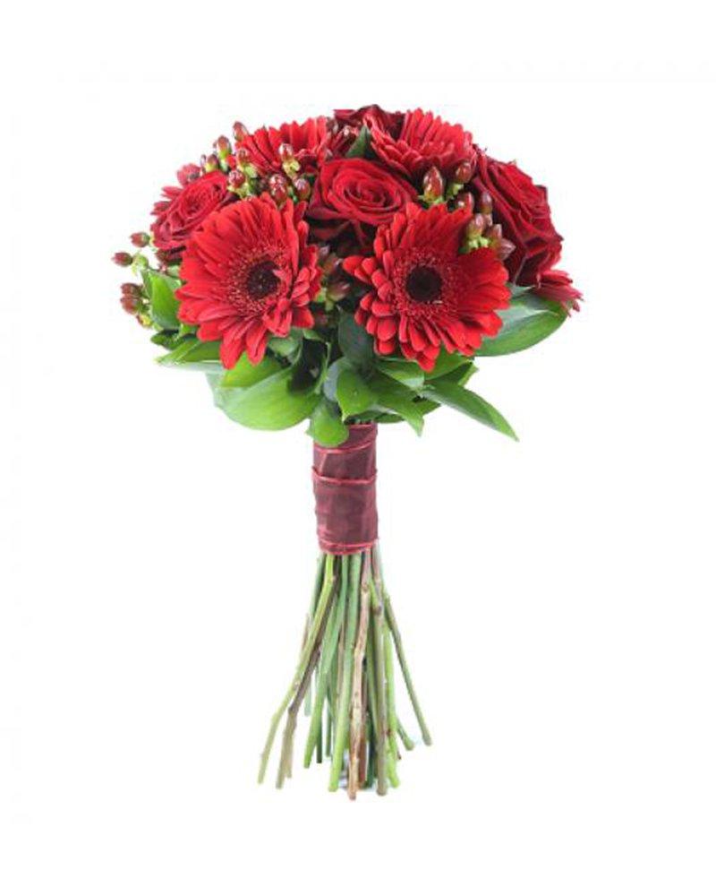 Букет The Red Lady – червени цветя