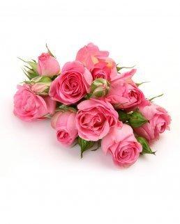 Красив букет от рози Розова усмивка - 9бр.