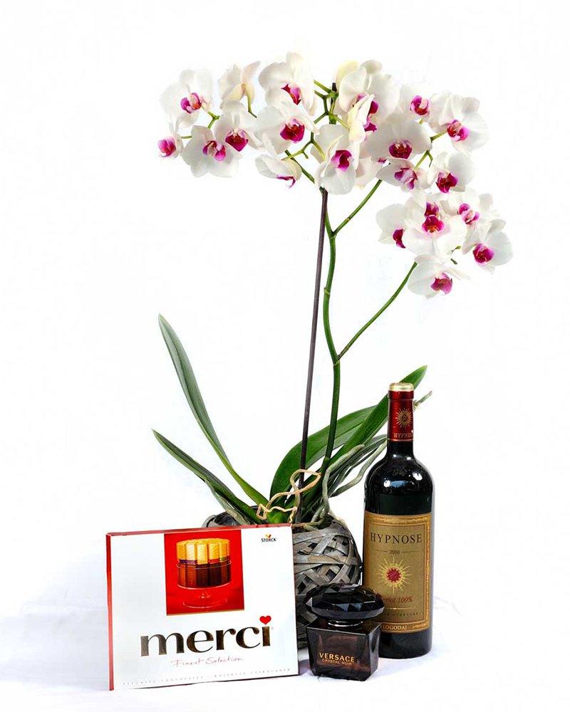 """Любовен сет """"Елеганс"""" цветя"""