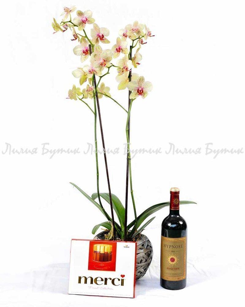 """Любовен сет """"Симпати"""" цветя"""
