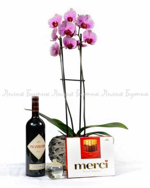 """Любовен сет """"Страст"""" - цветя Варна"""