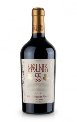Червено вино Мелник 55