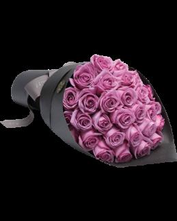 Букет от 25 броя рози