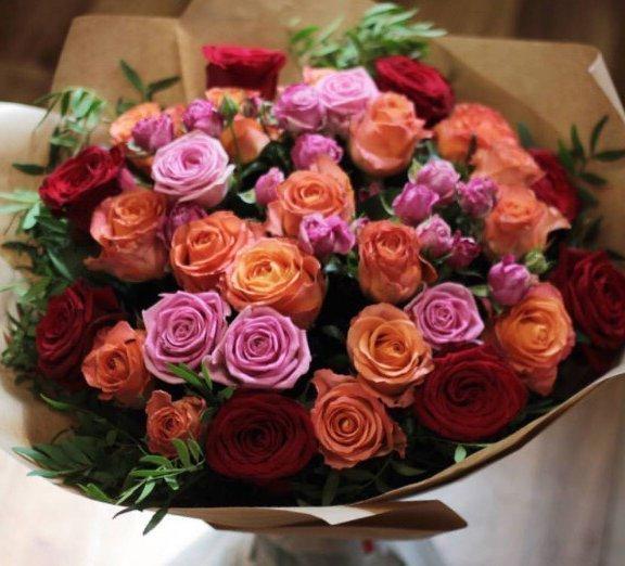 Микс рози от различни цветове